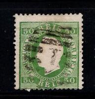 Portugal 1870 SG 115 Gestempelt 40% König Luis