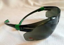 Work and Sports Safety Sunglasses w/Green Tinted Scratch Resistant Wrap Lens