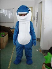 New Arrival Dolphin Animal Mascot Costume Cosplay Fancy Dress Adult Size Suits
