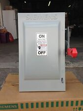 Siemens 60A/600V/3P Disconnect Switch HF362