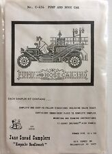 "Vintage Jane Snead Samplers ""Pump and Hose Car"" Kit/No. C-454"