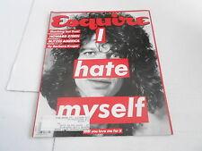 MAY 1992 ESQUIRE mens fashion magazine HOWARD STERN