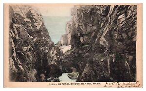 Natural Bridge, Nahant, MA Postcard *5F(2)31