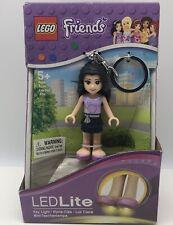 LEGO Friends Emma LED Lite LEDLite key chain light by Santoki Model # LGL-KE22E