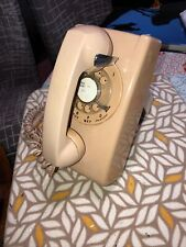 Vintage Stromberg Carlson Wall Hanging Rotary Dial Phone Model 554BM 1980's