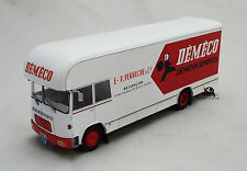 Miniature IXO Camion BERLIET GBK 75 Déménagement DEMECO 1969 Echelle 1/43e
