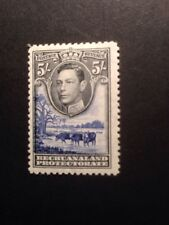 bechuanaland SG 127 1938 5/- Black And And Ultramarine GVI Mint