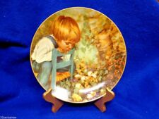 Mib W Coa Michael'S Miracle Collector Plate Nancy Turner Real Children 1982