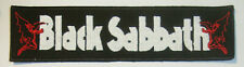 BLACK SABBATH-LOGO Embroidered Stripe PATCH VOL 4 DIO HEAVEN AND HELL