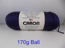 Caron Simply Soft 170g Knitting 60 Colors by Woolexpress DK Country Blue