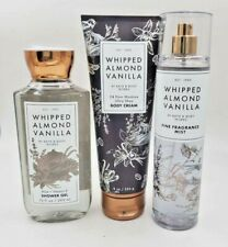 Bath & Body Works Whipped Almond Vanilla Collection