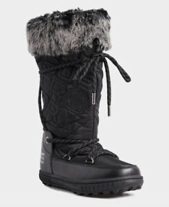Superdry Womens Stealth Snow Boots Size 3