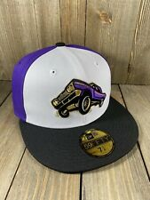 New Era Fresno Grizzlies Lowrider 59Fifty MiLB Minors Fitted Baseball Hat Cap