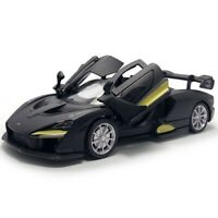 1:32 McLaren Senna V8 Model Car Diecast Gift Toy Vehicle Kids Black Pull Back