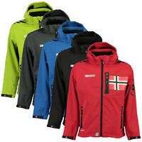 Geographical Norway Rowenta Uomo Softshell Giacca Impermeabile Anapurna Tecnica