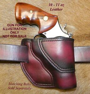 """Gary C's Leather Avenger Right Hand OWB Revolver HOLSTER  S&W K Frame 2.5 """""""