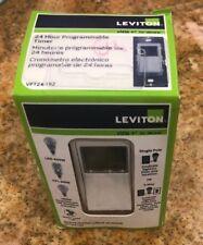 Leviton VPT24-1PZ Vizia 24-Hour Programmable  NEW SEALED