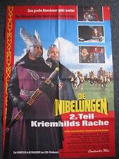 Die Niebelungen- 2. Teil-Maria Marlow-Filmplakat-Rolf Henninger-Kriemhilds Rache
