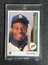 1989 Upper Deck - Ken Griffey Jr RC #1 Rookie Card NM+ Seattle Mariners