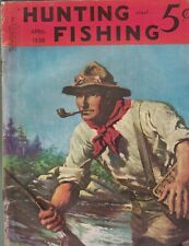Hunting & Fishing Magazine April 1938 Babe Ruth Remington Ad