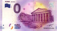 ITALIE Rome, Panthéon, 2017, Billet 0 € Souvenir