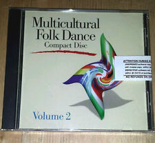 SEALED Multicultural Folk Dance CD Volume 2 Human Kinetics new world music