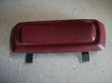 1990-93dodge ram D250-D350 extended cabRH dark red rear arm rest&mounting bolts
