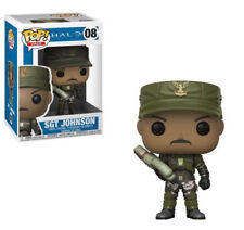 Halo SGT Johnson 9.5cm POP Vinyl Figura Funko 08 Vendedor GB NO copias