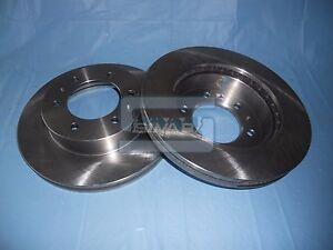 Pair Front Brake Discs Hummer H3 2005>15202106 Sivar US43007