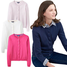 Joules Womens Skye Neat Fitted Button Up Classic Cardigan
