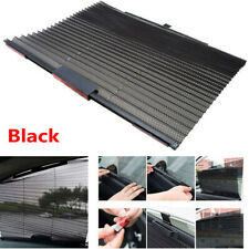 1PC Car Retractable Black Side Window Curtain Sun Shield Blind Sunshade Anti-UV