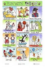 """""""Fun with Dogs"""" from McCaw Allan (Northern Ireland) - Linen/Cotton Blend"""