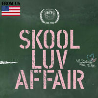 BTS KPOP BANGTAN BOYS 2nd Mini Album [SKOOL LUV AFFAIR] CD+Photobook+Photocard