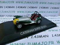 NOR3A VOITURE 1/43 NOREV : CATERHAM Super Seven (lotus)