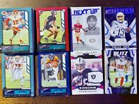 2020 Playbook Football lot-100 cards-Parallels, Inserts, Rookies, Base