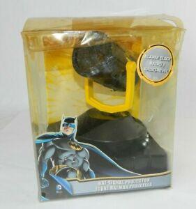 Batman Bat Signal Projector Alarm Clock Radio Vintage Night Light Warner Bros