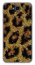 FUNDA de GEL TPU para LG X POWER 2 diseño LEOPARDO Dibujos