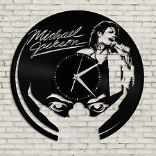 Michael Jackson Art Clock - Jackson Wall Art Clock, Kitchen Clock, Vinyl Art