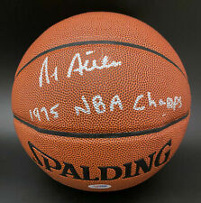 Al Attles SIGNED I/O Basketball + 75 NBA Champs GS Warriors PSA/DNA AUTOGRAPHED