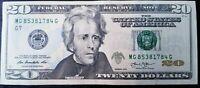 BILLET DE 20 DOLLARS - Excellent Etat - Envoi Gratuit