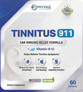 Tinnitus 911 Tinnitus Ear Ringing Relief Supplement