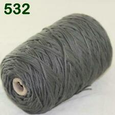 C Hot Sale 400gr Cotton Soft Cone Chunky Bulky Wrap Shawl Hand Knitting Yarn 32