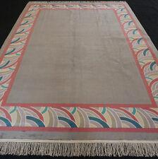 Designerteppich China 354 x 250 cm Orient Teppich Seide Silver Silk Carpet Rug