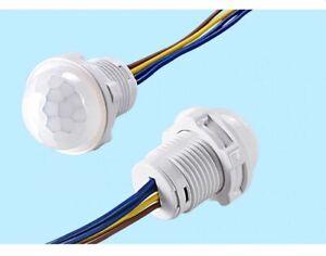 Mini Closet PIR Sensor Detector Smart Switch 110V 220V LED PIR Infrared Motion