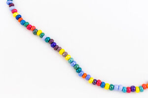 6/0 Opaque Cosmic Luster Multi-Color Seed Bead (20 Gram) #CSB097