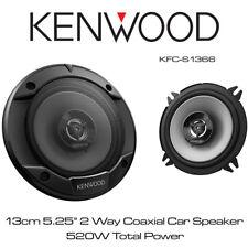 """Kenwood KFC-S1366 - 13cm 5.25"""" 2-Way Car Door Speakers 520W Total Power"""