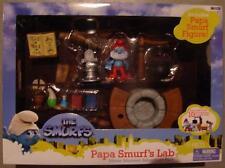 Smurfs papa smurf lab and figure playset movie 2011 new