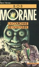 BOB MORANE Fleuve Noir 24 La couronne de Golconde Henri VERNES livre roman book