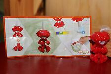 figurine magic kinder mixart dc 029 rouge ferrero