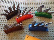 Lego Bionicle/Technic ~ Mixed Lot of Back Fins/Blades Armor Weapons Spike #jku7y